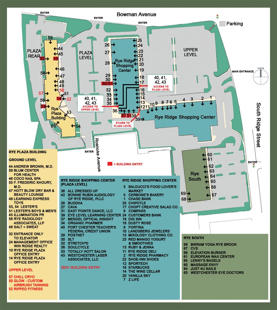 Rye Ridge Shopping Center » Retail Locations