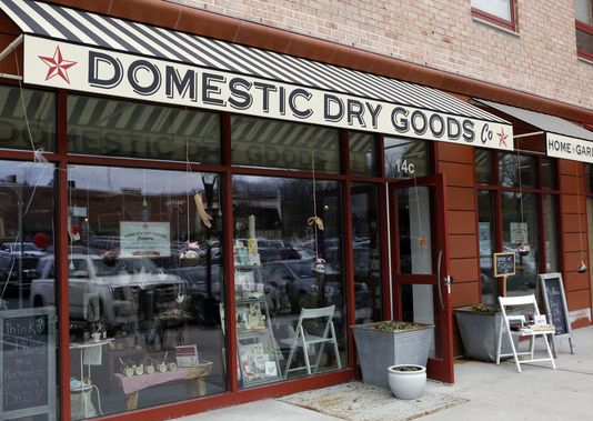 Domestic Dry Goods Company, where everything is made in America, is photographed in Rye Brook. (Photo: Tania Savayan/The Journal News)